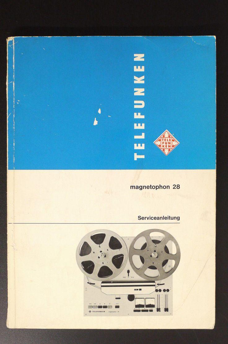 301 best TFK Magnetophon images on Pinterest | Audio, Music studios ...