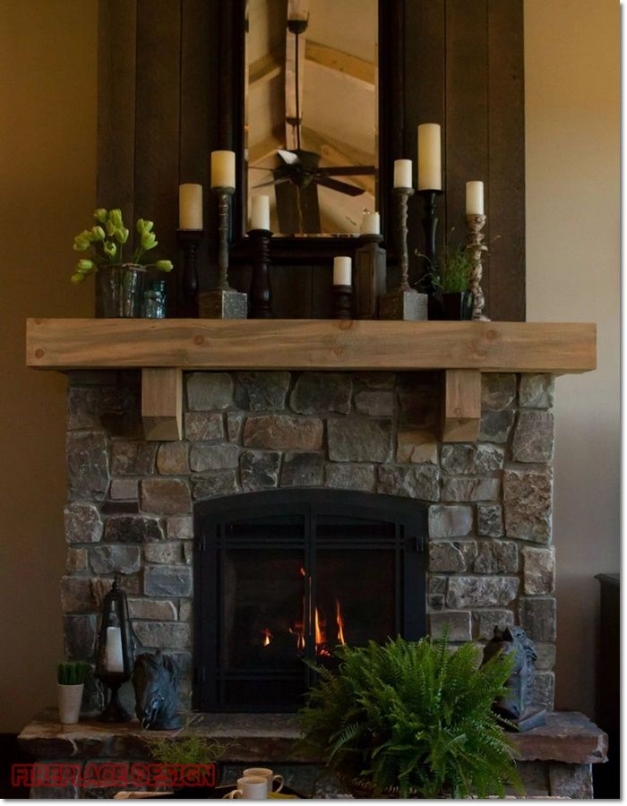 Reclaimed Wood Fireplace, Can You Put Wood Around A Fireplace