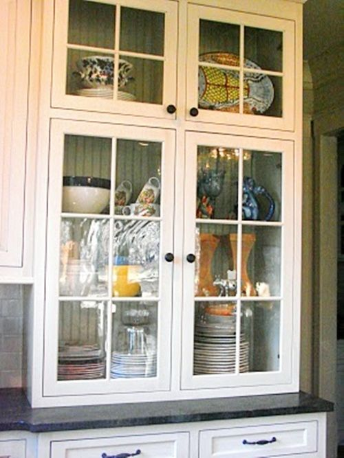 Feature Friday: Browne Eyed Belle. Glass Front CabinetsIn ... Part 61