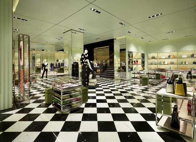 Prada second flagship store in Kuwait at Avenues Mall