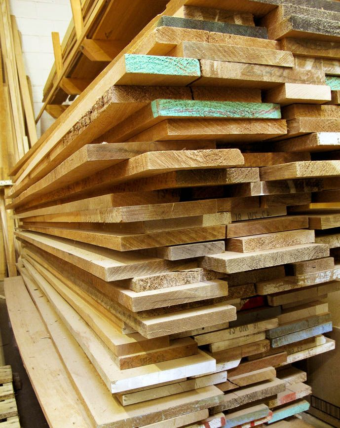 What Are Some Of The Most Common Types Of Wood Used In