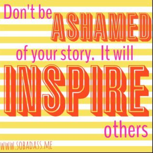 inspire through your own story more than meets the eye