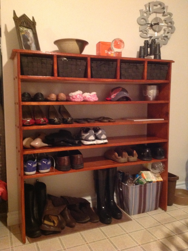 Foyer Boot Storage : Boot rack for entryway tall enough my hunters and