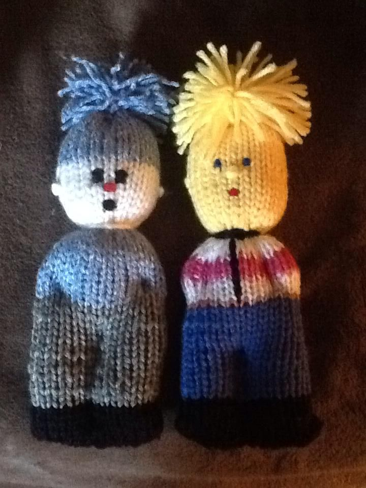 comfort dolls, would love to know how to make dolls with the loom :-D