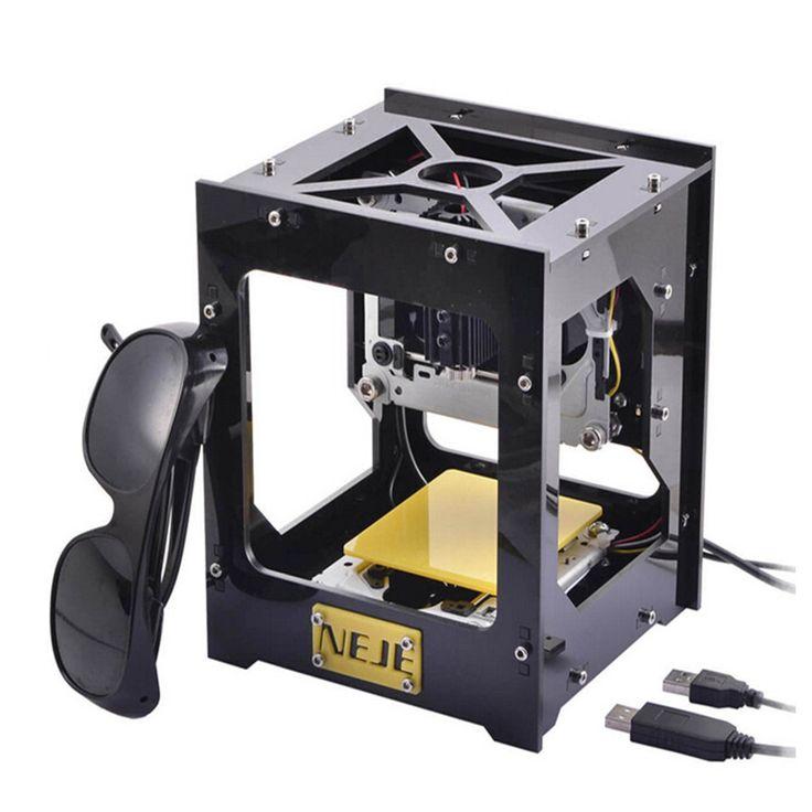 300mW USB DIY Laser Engraver Cutter Engraving Cutting Machine Laser Printer CNC Printer