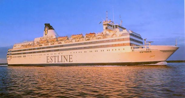 MS Estonia: The MS Estonia sank in heavy Baltic seas on 28 September 1994 claiming 852 lives