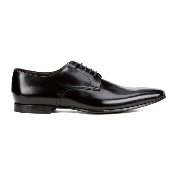 Paul Smith Shoes Men's Taylors Leather Derby Shoes - Nero City ($330) ❤ liked on Polyvore featuring men's fashion, men's shoes, men's dress shoes, men, shoes, male clothes, shoes/boots, black, mens shoes and mens pointed toe shoes