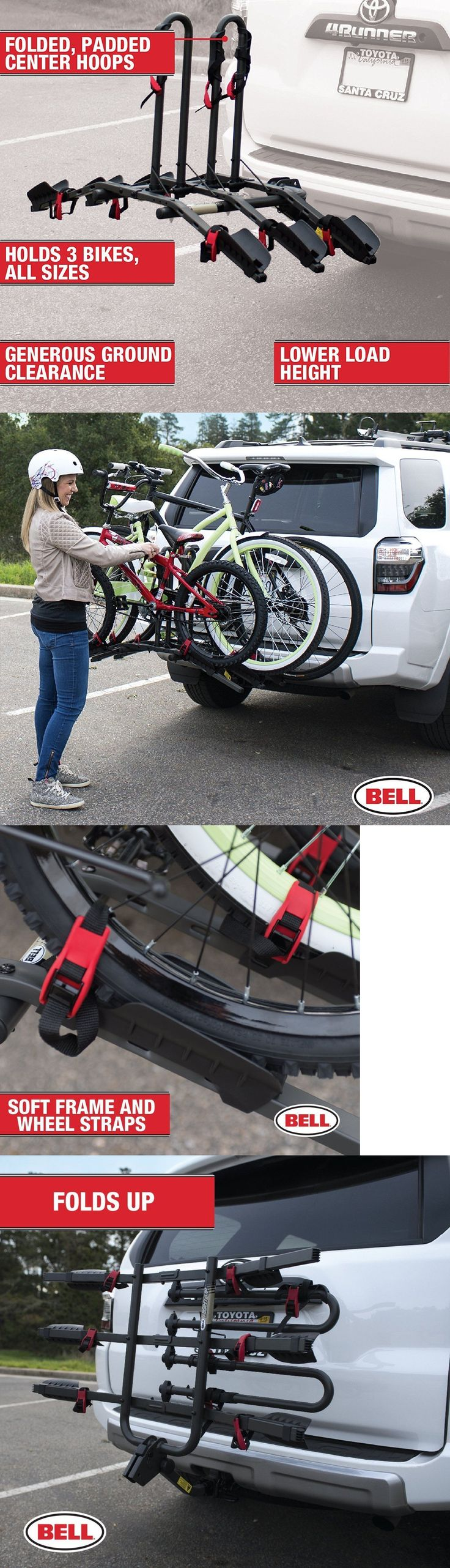 Car and Truck Racks 177849: Bell Right Up 300 3-Bike Hitch Rack Rightup New Sealed Box!! -> BUY IT NOW ONLY: $139.5 on eBay!