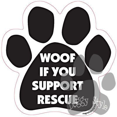 Www Support Dog And Cat Rescue Car Magnets