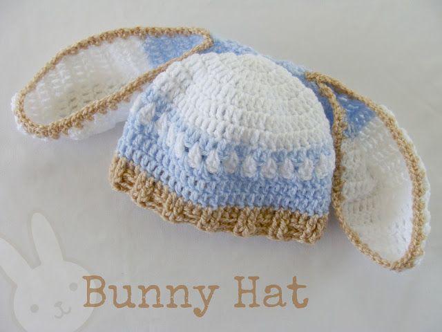 Lanas de Ana: Bunny Hat