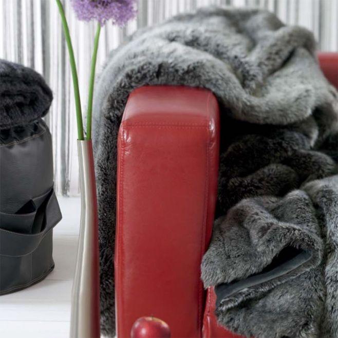 Плед из искусственного меха Winter Home Timberwolf (Швейцария)