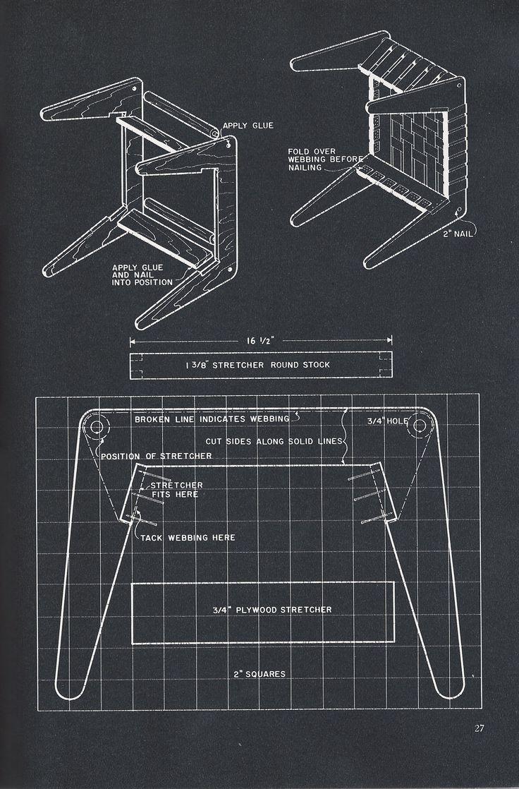 Jens risom floating bench for sale at 1stdibs - Jens Risom Knoll Webbed Stool Diy Instructions