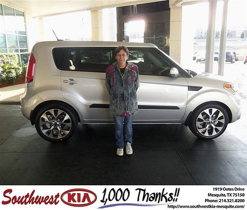 CONGRATULATIONS TO ROBERT KRYSCH ON THE 2013 KIA SOUL: Photo