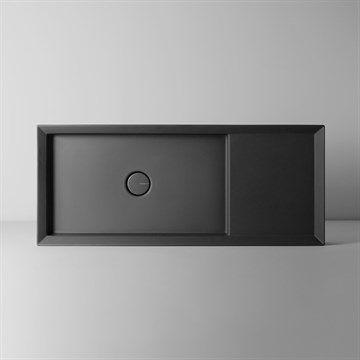 Cut Too -  En flot firkantet håndvask til væg/bordplade