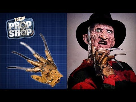 How to Make Freddy Krueger's Metal-Clawed Brown Leather Glove