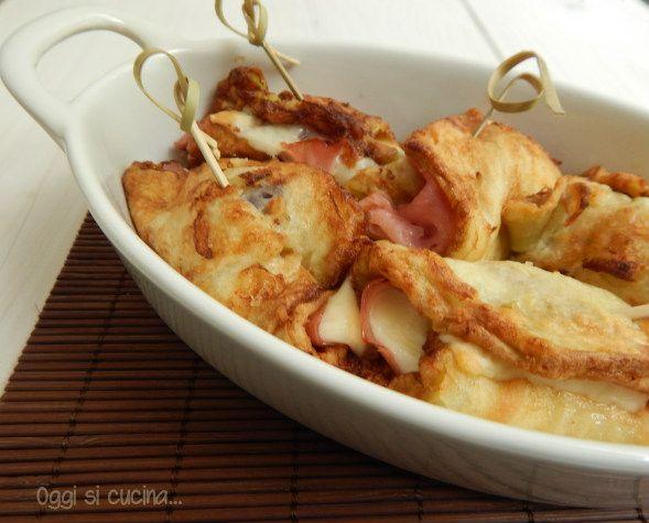 Le girelle di melanzane con prosciutto e formaggio sono un secondo piatto gustoso, una valida alternativa alla carne.