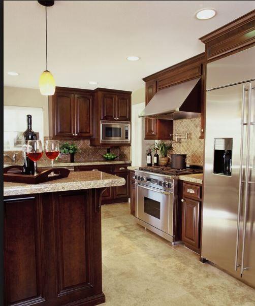 25 Best Ideas About Dark Kitchen Floors On Pinterest: 90 Best Cherry Color Kitchens Images On Pinterest
