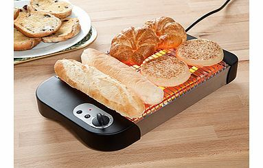 FLAT Toaster Just like those you see in delis and at hotel buffets, this panini toaster is the perfect solution for all those rolls and breads that are too bulky for a standard toaster. Two powerful quartz heating http://www.comparestoreprices.co.uk/other-products/flat-toaster.asp