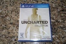 Uncharted The Nathan Drake Collection (Sony PlayStation 4 PS4  2015) Brand New