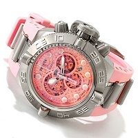 "Invicta SubAqua Noma IV - PINK ""strong enough for a man, but made for this woman..."""