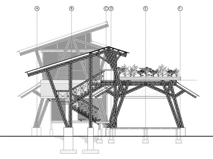 bamboo structure floor plan - Google Search