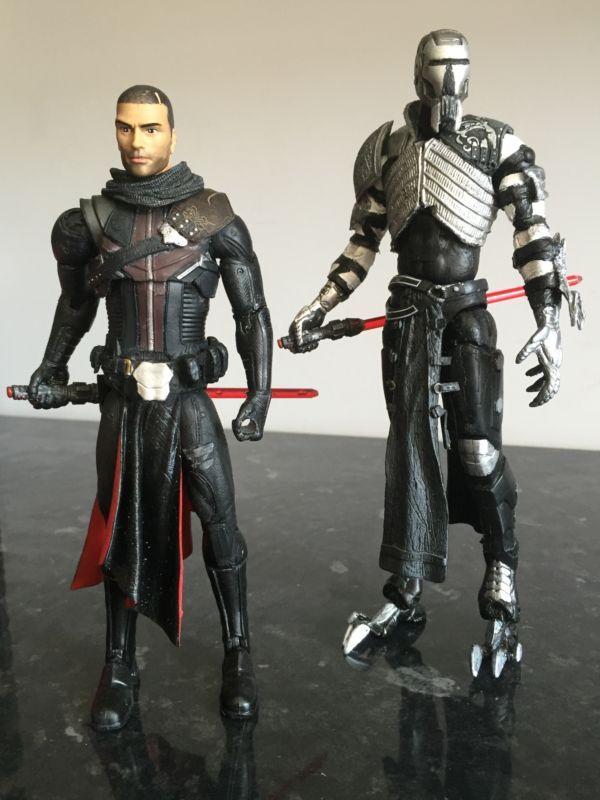 Starkiller/Galen Marek (Star Wars) Custom Action Figure [Sith Stalker up next]