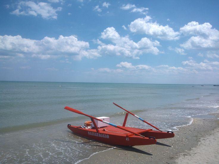 Il mare a Milano Marittima, Adriatic Sea