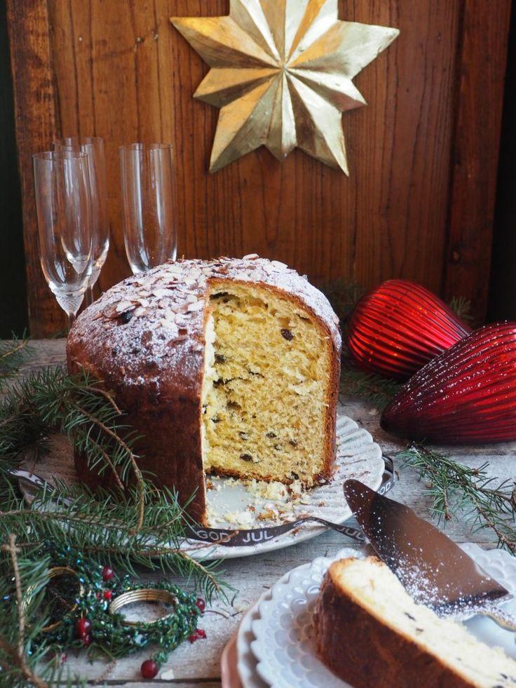 Panettone - italiensk julekake