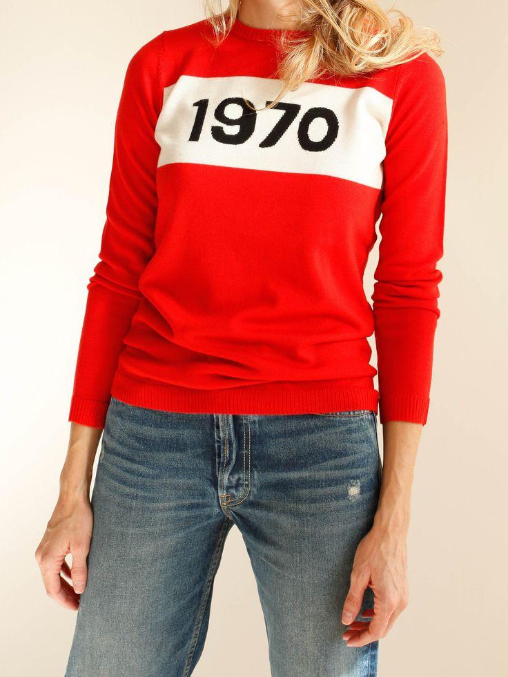 BELLA FREUD - 1970 Jumper - Red