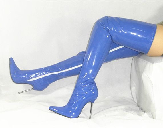 Share sexy latex girl high heels speaking