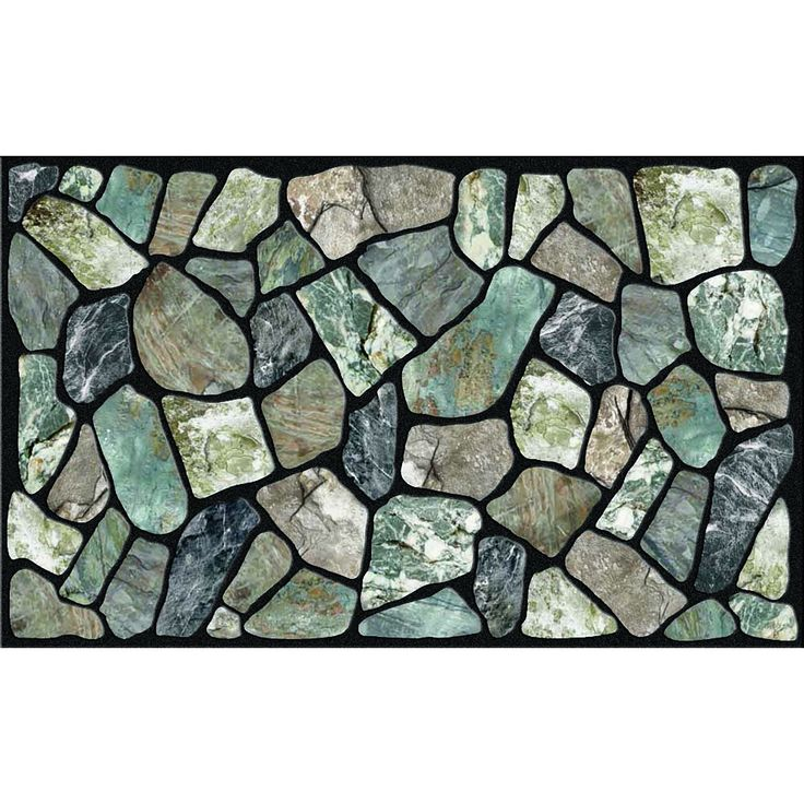 Outdoor Flagstone Greystone Doormat