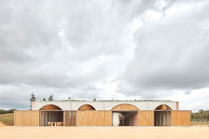 jorge vidal and víctor rahola construct winery in catalonia with barrel vaulted ceilings