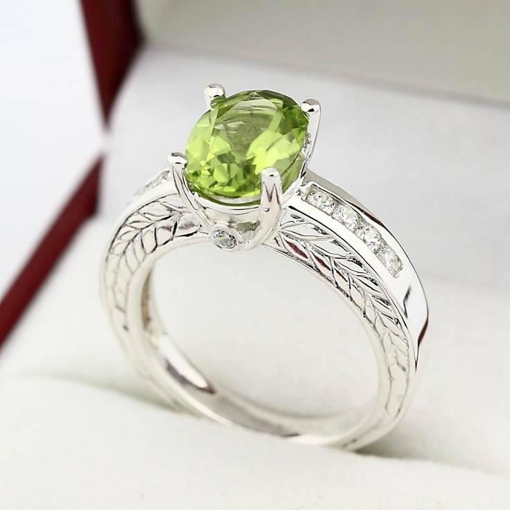 leo boosting peridot the of quality for life birthstone rings