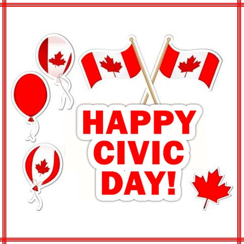 Happy Civic Day, Canada!