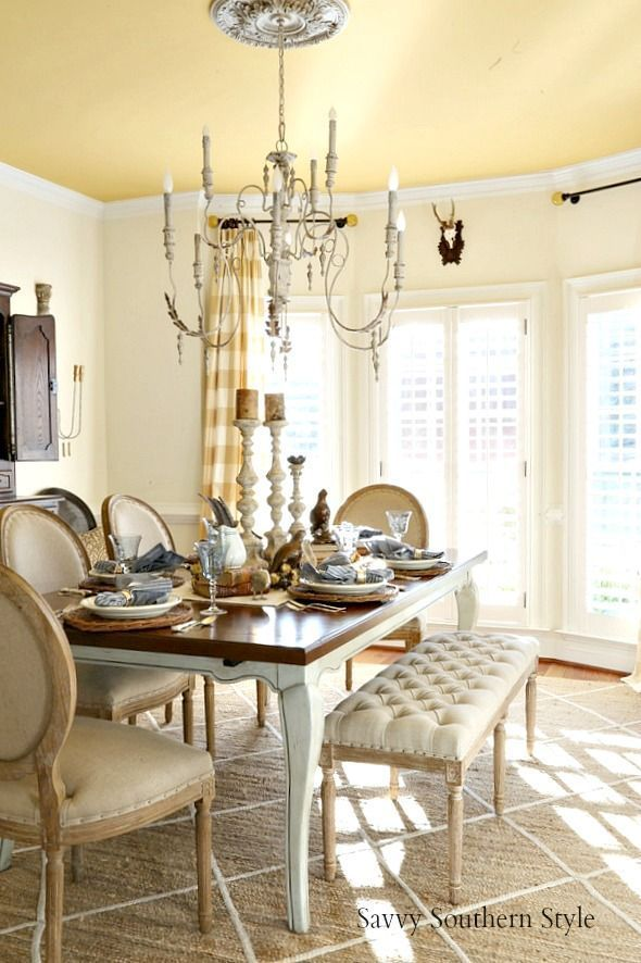 Savvy Southern Style If I Were Hosting Thanksgiving Thanksgivingtable Rusticstyle Frenchcountry