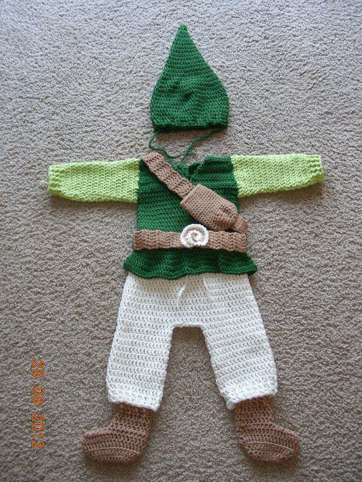 Crochet Zelda Patterns : crochet Zelda costume. $72.00, via Etsy.: Babies, Zelda Costume ...