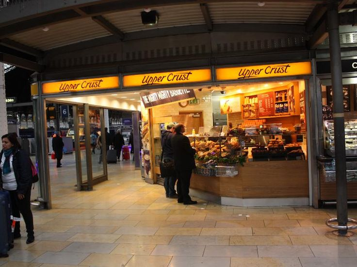 35. PLATFORM   London Paddington Station - Upper Crust.
