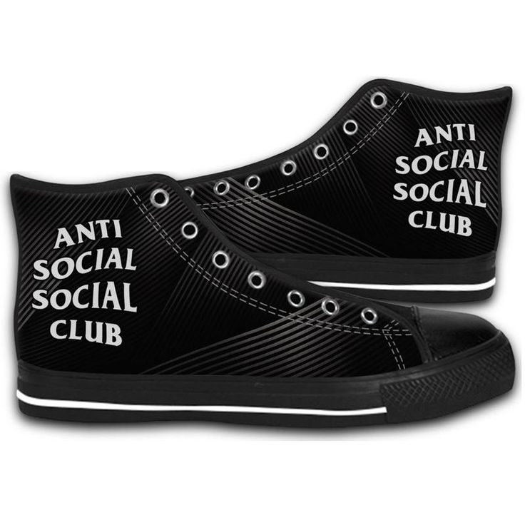 ANTISOCIAL SOCIAL CLUB KANYE HIGH TOP CANVAS SHOES MEN'S & WOMEN'S RUNNING   #sport,#running,#shoes,#new