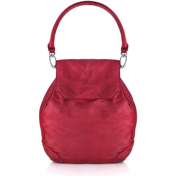 LIEBESKIND Sakai Bag (410 CAD) ❤ liked on Polyvore featuring bags, handbags, red bag, liebeskind, liebeskind bags, liebeskind handbags and liebeskind purses
