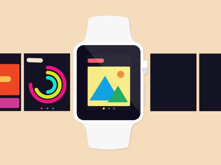 Apple Watch Pattern Library