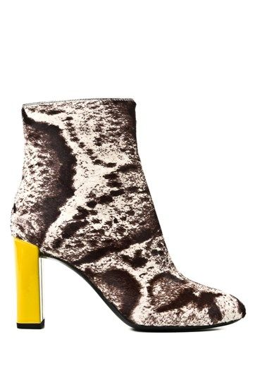 FENDI - Animalier ankle boot#alducadaosta #newarrivals #sixties #fever #trend #women #apparel #accessories #prints #colors #classy #style #fashion #fallwinter #fall #winter #collection #fendi