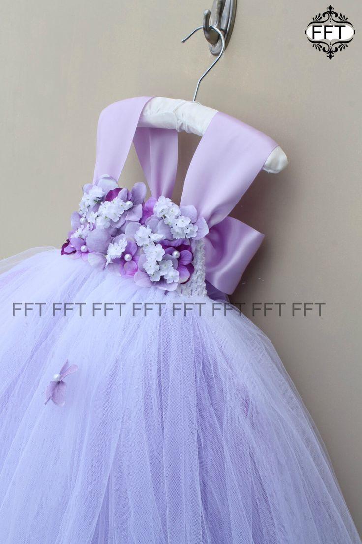 Lavender Flower Girl Dress, Light Purple Tutu Dress With Cap Sleeves by FrillyFairyTales on Etsy https://www.etsy.com/listing/265462169/lavender-flower-girl-dress-light-purple
