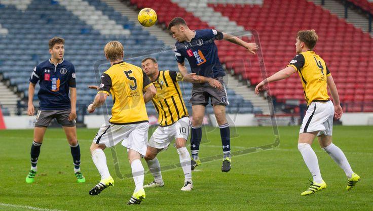 Queen's Park's Adam Cummins in action during the Ladbrokes League One game between Queen's Park and East Fife. P