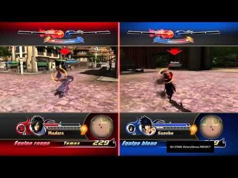 [Jeu vidéo] J Stars Victory VS PS4 combat 2 joueurs #2 Madara VS Sasuke Konoha (Naruto) - from #rosalys at www.rosalys.net - work licensed under Creative Commons Attribution-Noncommercial