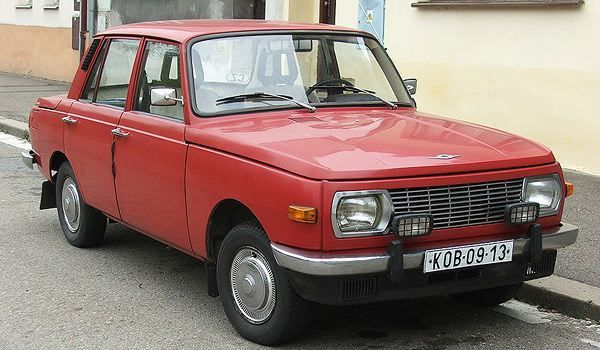 Wartburg 353 introduced 1965- East German built. The name really says it all. It was actually quite popular behind the iron curtain because it outperformed the cars from the Soviet Union