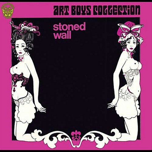 "ART BOYS COLLECTION ""Stoned Wall"" Golden Pavilion 2012 re. of 1972 Lesborne (Austria). Killer LP somewhere between ""In The Court of The Crimson King"" & Beatl-esque Pop. Really unique super Lo-fi Psych & still very much a Beat Group. Like mixing 23rd TURNOFF, JIMMY CAMPBELL & ROCKIN' HORSE all at once. The title track is perfect! ""Roll Engine Roll"" is very ""It Don't Come Easy"" (yr before). ""Wait for the Days""+""Happy Woman"" super George Harrison & still original. Not just another MACCA…"