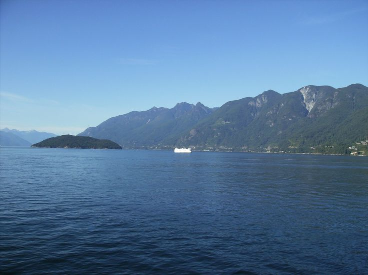 An essential BC summer experience - on the ferry...