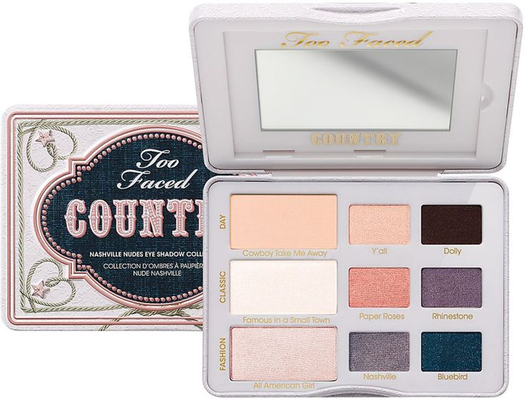 Too Faced Country Nashville Nudes Eye Shadow Collection Ulta.com - Cosmetics, Fragrance, Salon and Beauty Gifts