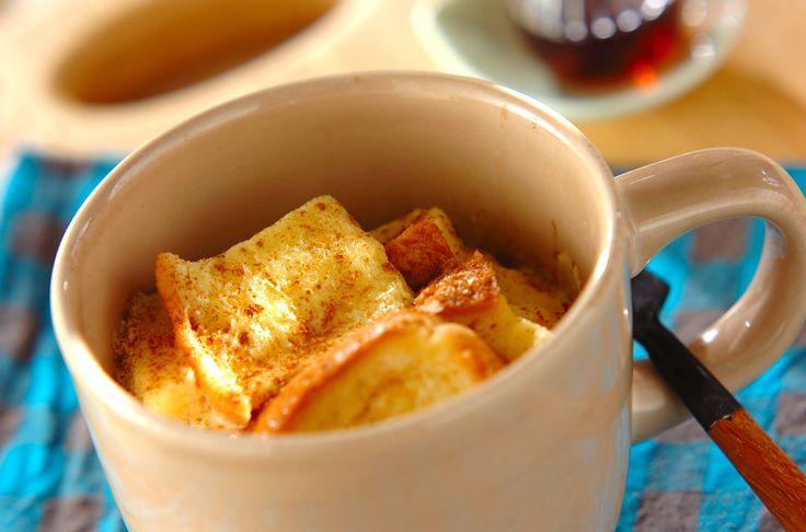 前日から卵液に浸しておけば、朝はチンするだけ!ふんわり優しい味わいです。クイックフレンチトースト/杉本 亜希子のレシピ。[パン/その他パン]2012.12.10公開のレシピです。