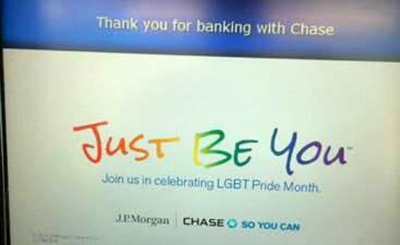 How Chase Bank and other Corporations Coerce and Bully Christians -- If you are reading this at work, quick, get rid of it. Your boss may be watching.
